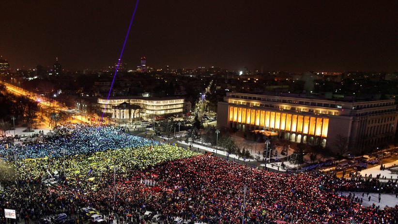 Wieder Proteste in Rumänien