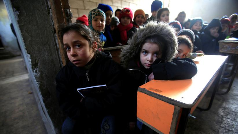 In Syrien fehlen Ärzte, die die Kinder behandeln können.