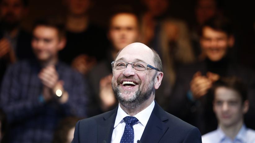 Soziale Gerechtigkeit: Martin Schulz auf dem Treffen des SPD-Parteivorstands Ende Januar in Berlin