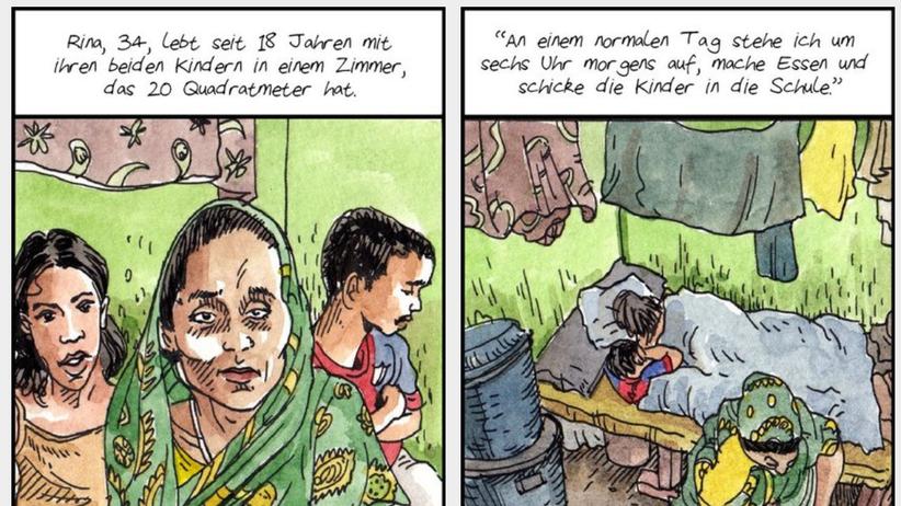 Textilindustrie: Reporterskizzen aus Bangladesch