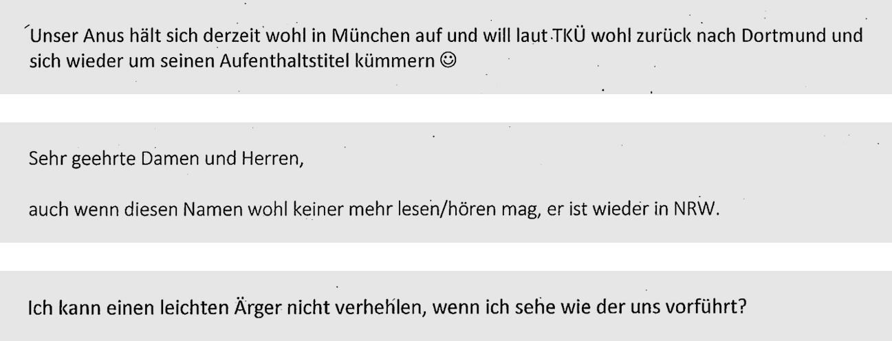 Anis Amri: Aus E-Mails von Beamten in NRW sowie dem Bundesamt für Migration und Flüchtlinge