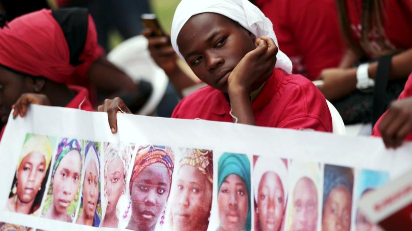 Boko Haram: Ein Plakat der Initiative Bring Back Our Girls