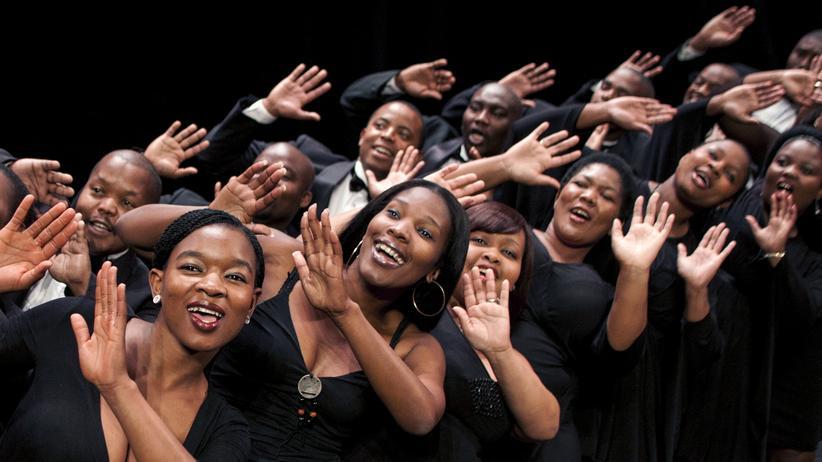 Gospel: Die African Angels bei einem Konzert