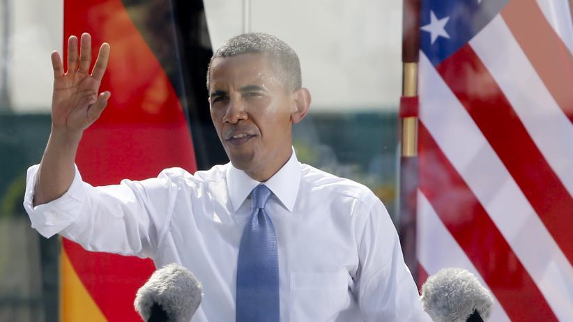 Evangelischer Kirchentag: Barack Obama kommt wieder nach Berlin (Archivbild von 2013).
