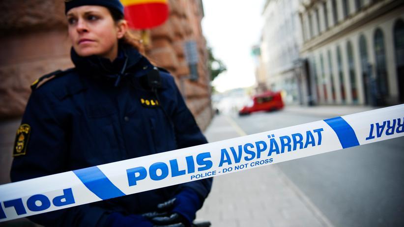 Schweden: Polizei im Zentrum von Stockholm