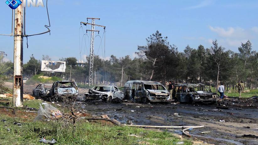 Syrien: Über 100 Tote durch Anschlag auf Busse