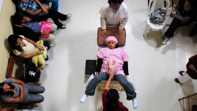 Vereinte Nationen: Frauen bei einem Schwangerschaftsworkshop in einem Krankenhaus in Lima, Peru