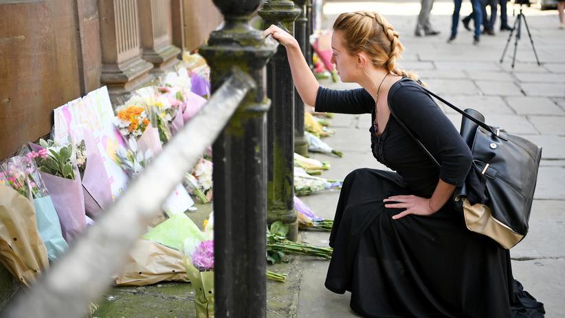 Manchester: Gedenken an die Opfer des Anschlages in Manchester