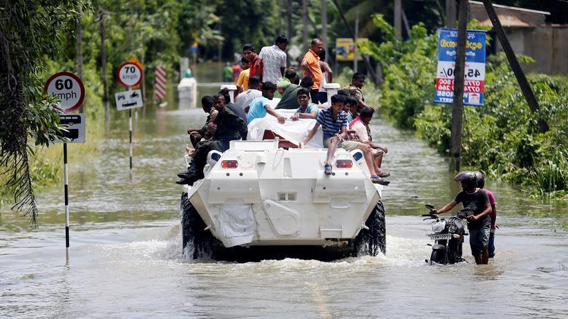 Sri Lanka: Mindestens 169 Tote nach Monsun-Unwettern