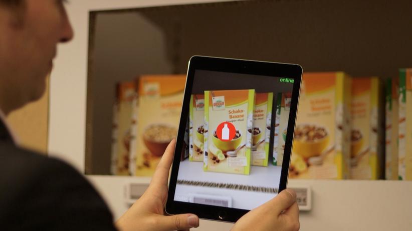 Supermarkt der Zukunft: Wo geht's denn hier zum Soßenbinder?