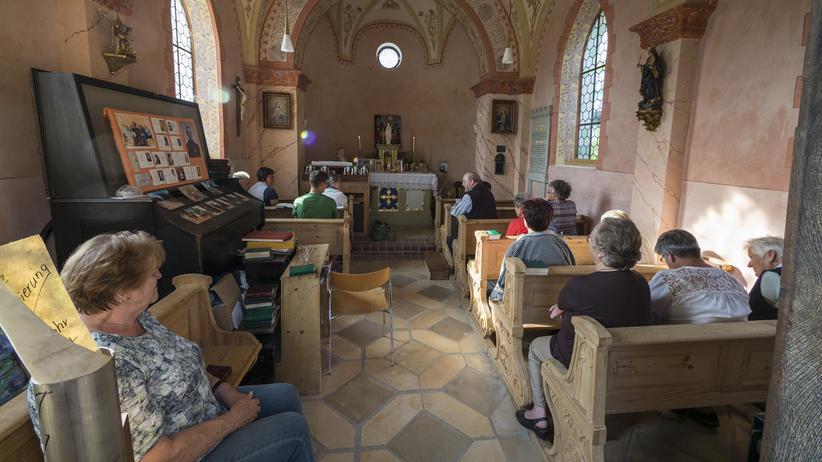 Unterflossing: Eine Messe in der Unterflossinger Kapelle