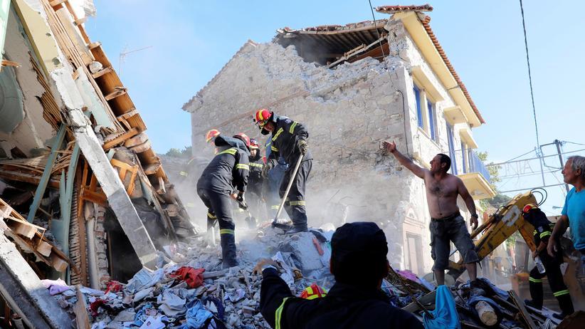 Erdbeben in der Ägäis: Lesbos ruft den Notstand aus