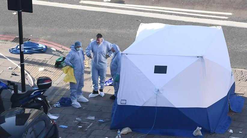 Großbritannien: Ein Toter bei möglichem Anschlag nahe Londoner Moschee