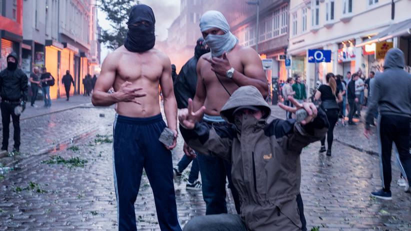 G20-Krawalle : Mit ganzer Härte