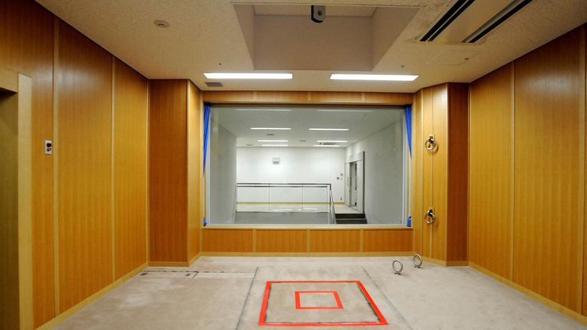 Todesstrafe: Eine Hinrichtungskammer in einem Gefängnis in Tokio. In Japan werden Todesurteile immer noch durch Hängen vollstreckt.