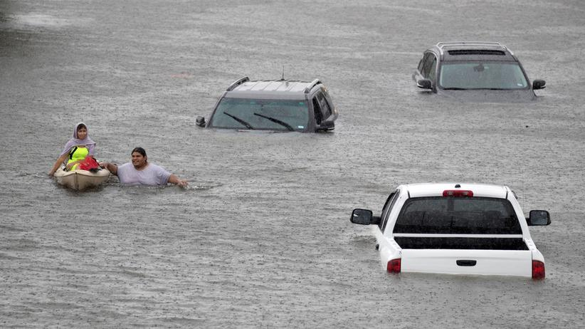 Texas: Behörden ordnen Evakuierungen in Houston an