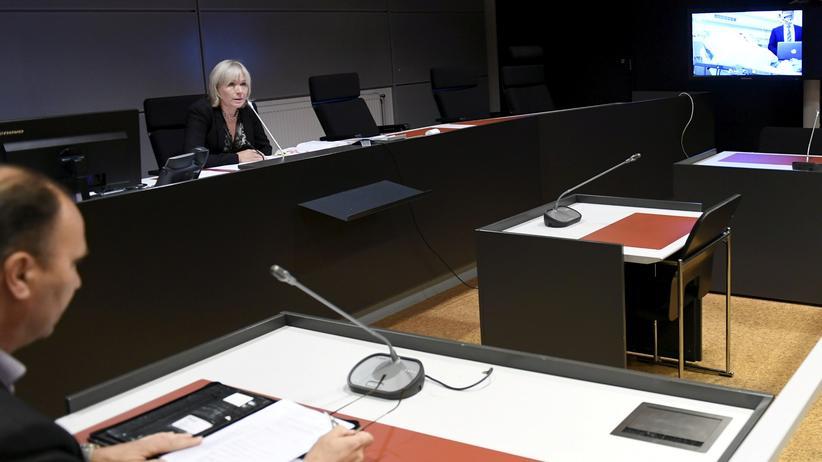 Turku: Der Verdächtige wurde dem Haftrichter per Videoübertragung aus dem Krankenhaus zugeschaltet