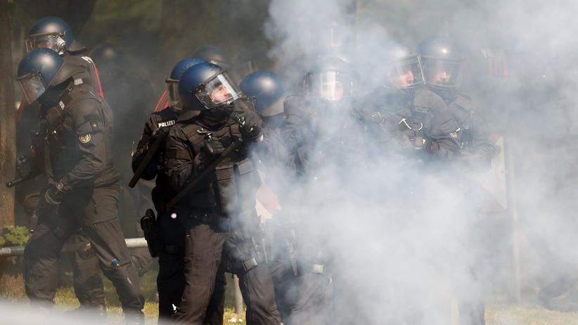 Polizeieinsatz bei G20: Interne Ermittlungen gegen 95 Polizisten