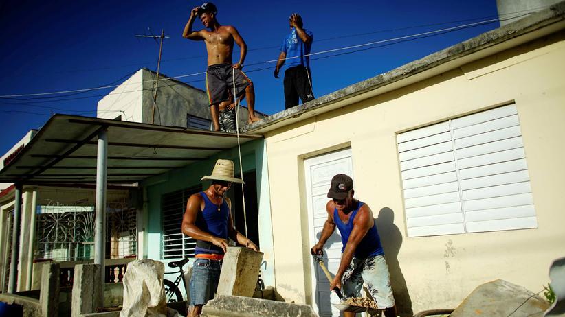 Hurrikan: In Kuba bereiten sich die Menschen auf die Ankunft von Hurrikan Irma vor.
