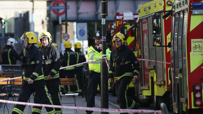 London: Polizei stuft Vorfall in U-Bahn-Station als Terror ein