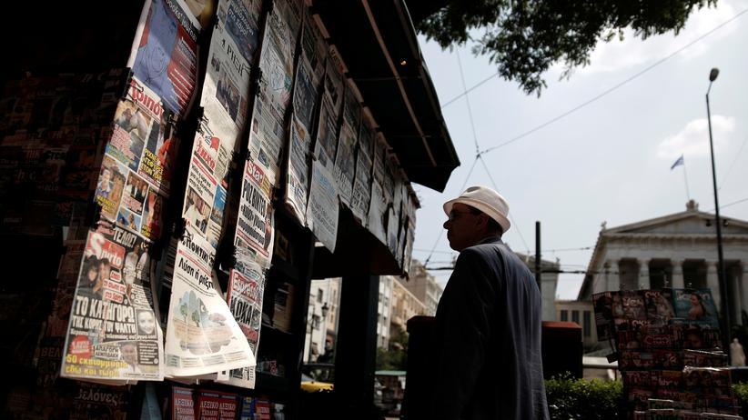 Medien in Griechenland: Dann schreiben sie eben selbst