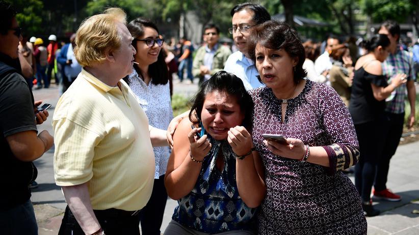 Mexiko wird erneut von schwerem Erdbeben getroffen