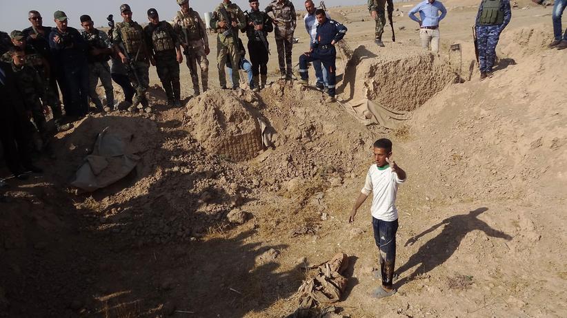 """""""Islamischer Staat"""": Massengräber mit 400 Opfern im Irak entdeckt"""
