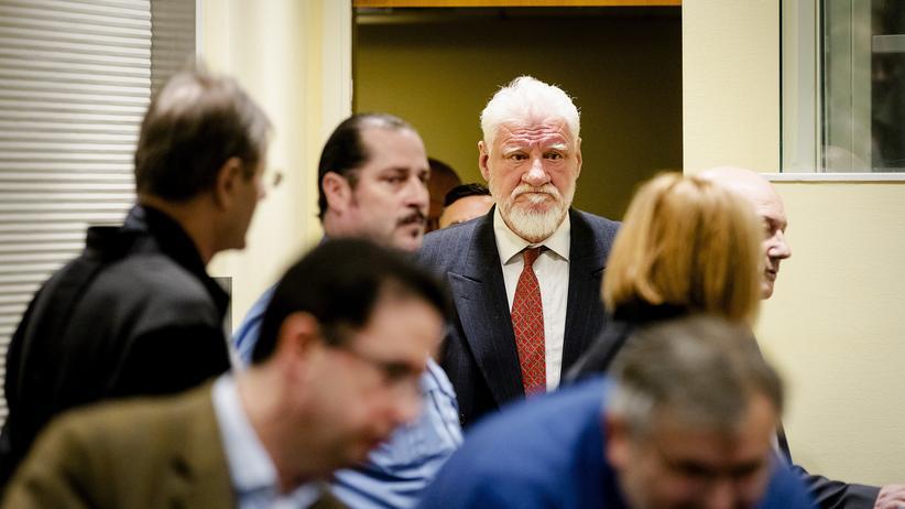 Slobodan Praljak: Schweigeminute für den Kriegsverbrecher