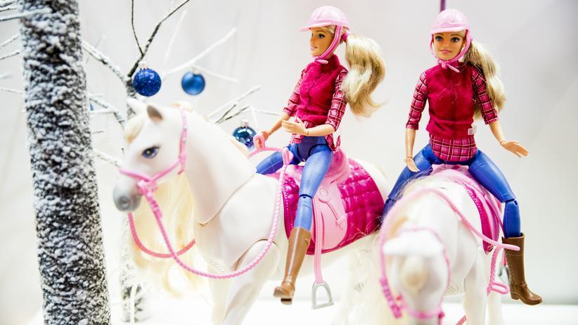 Weihnachten: Barbie-Pferde gibt es immer wieder. Dieses Jahr sind sie mit Sensoren ausgestattet.