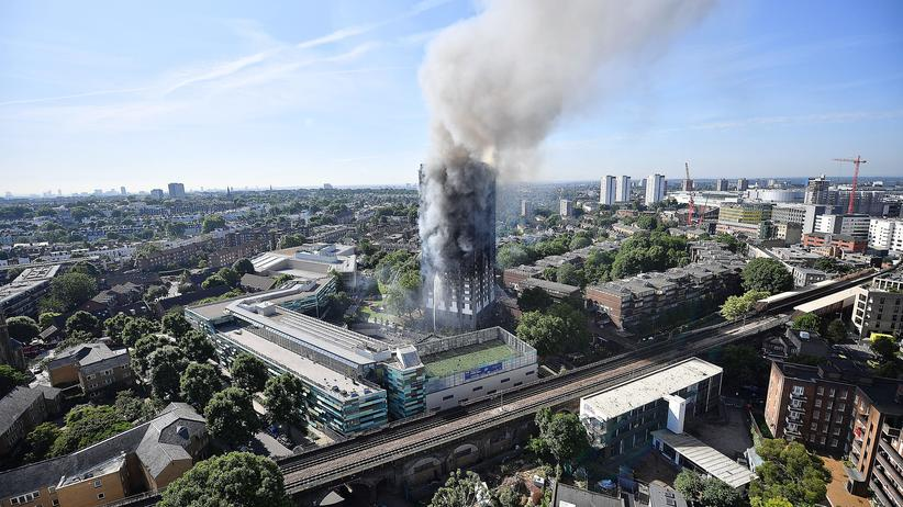 London: Brandschutz im Grenfell Tower war mangelhaft