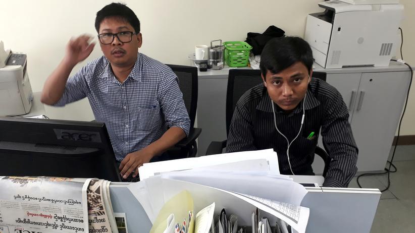 Myanmar: EU und UN fordern Freilassung von Reuters-Journalisten