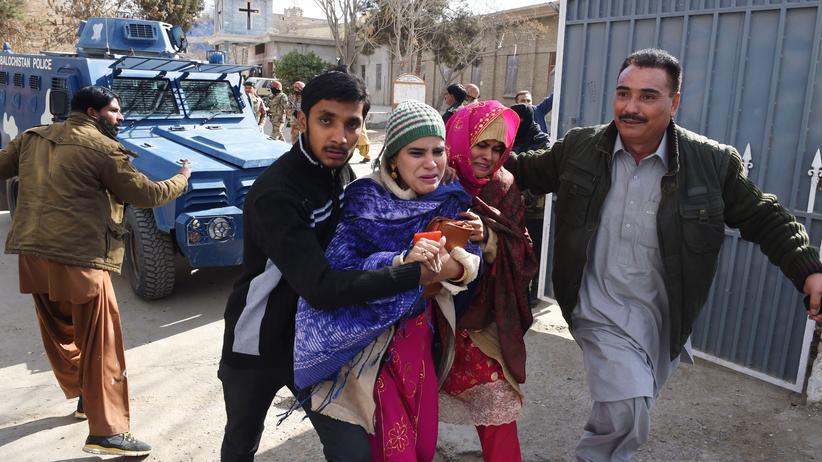 Pakistan: Tote bei Anschlag auf Kirche