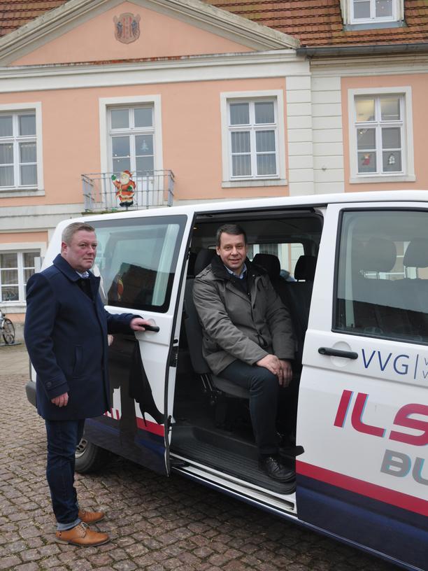 Rufbus: Der Loitzer Bürgermeister Michael Sack (CDU)