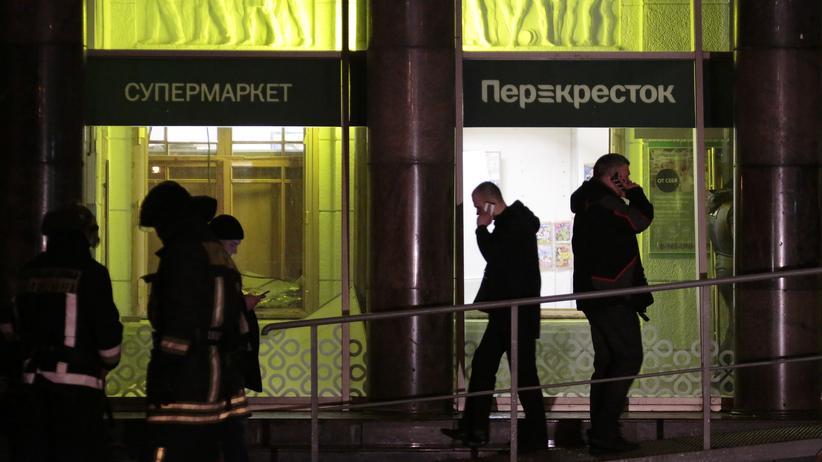 St. Petersburg: Mehrere Verletzte durch Explosion in russischem Supermarkt