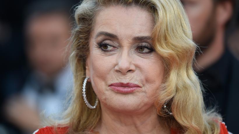 MeToo: Catherine Deneuve (74) bei den Filmfestspielen in Cannes am 23. Mai 2017