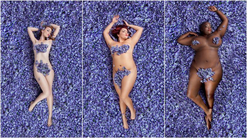 """Schönheit ist vielseitig: Diese Frauen stellen die Blumenszene aus """"American Beauty"""" nach"""