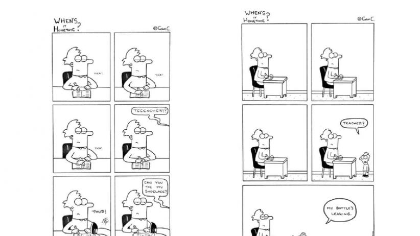 Arbeit: Diese Comics eines Grundschullehrers zeigen seinen witzigen Alltag