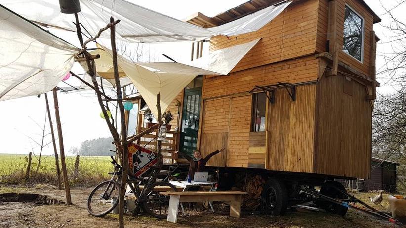 Tiny House: So lebe ich in meinem selbstgebauten Minihaus