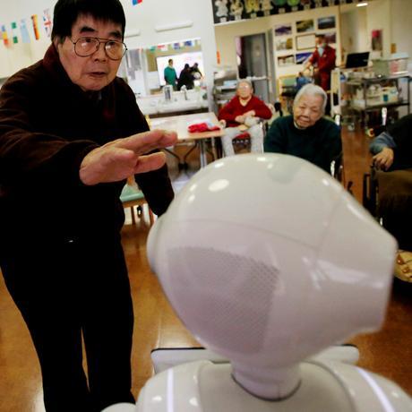 Tokio: Mein Pfleger, der Roboter
