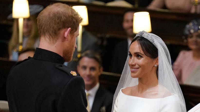 Royale Hochzeit : DAS hat Prinz Harry wirklich zu Meghan Markle gesagt