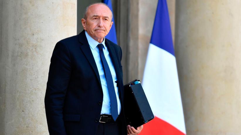 Frankreich: Der französische Innenminister Gérard Collomb