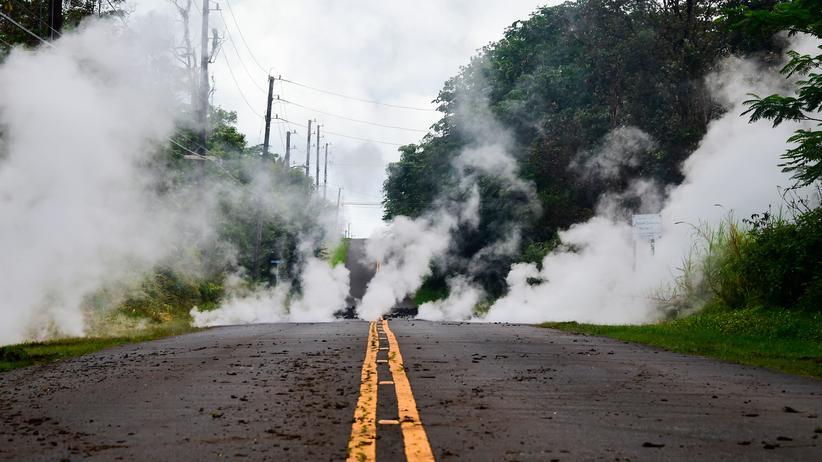 Nach Vulkanausbruch: Schweres Erdbeben erschüttert Hawaii