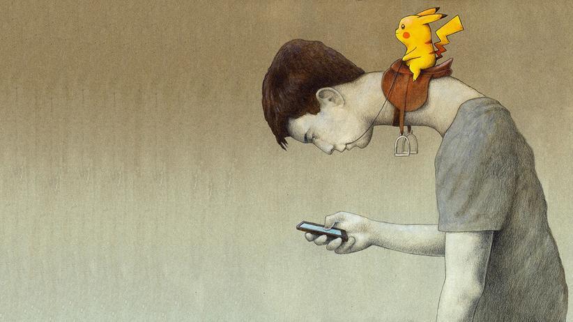 Facebook als Rauschmittel: Diese Comics zeigen, wie sehr uns die Digitalisierung belastet
