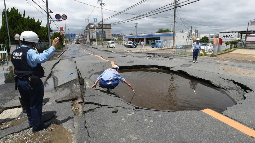 Japan: Mindestens drei Tote und 200 Verletzte nach Erdbeben