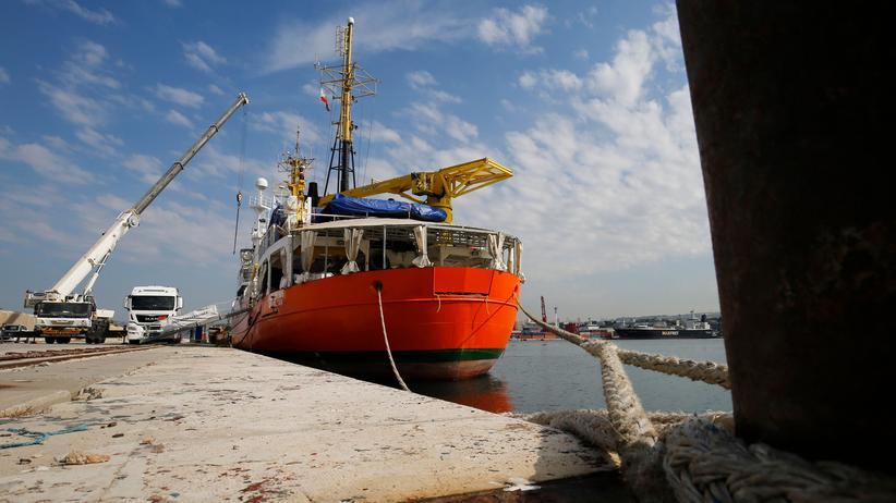 """""""Aquarius"""": Privates Rettungsschiff sticht wieder in See"""