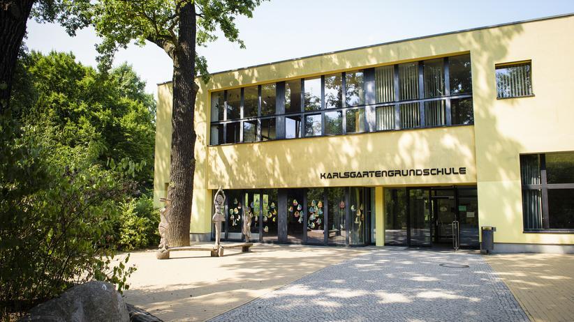 Berlin-Neukölln: Die Karlsgartenschule im Berliner Stadtteil Neukölln