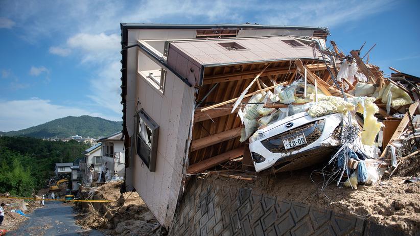 Überschwemmungen in Japan: Zahl der Toten gestiegen