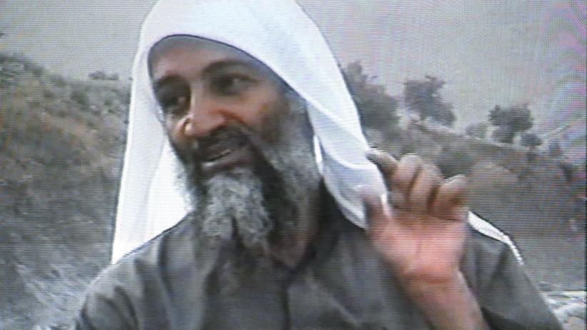 Sami A.: Eine Aufnahme Osama Bin Ladens aus einem Bericht des saudischen TV-Senders MBC von April 2002