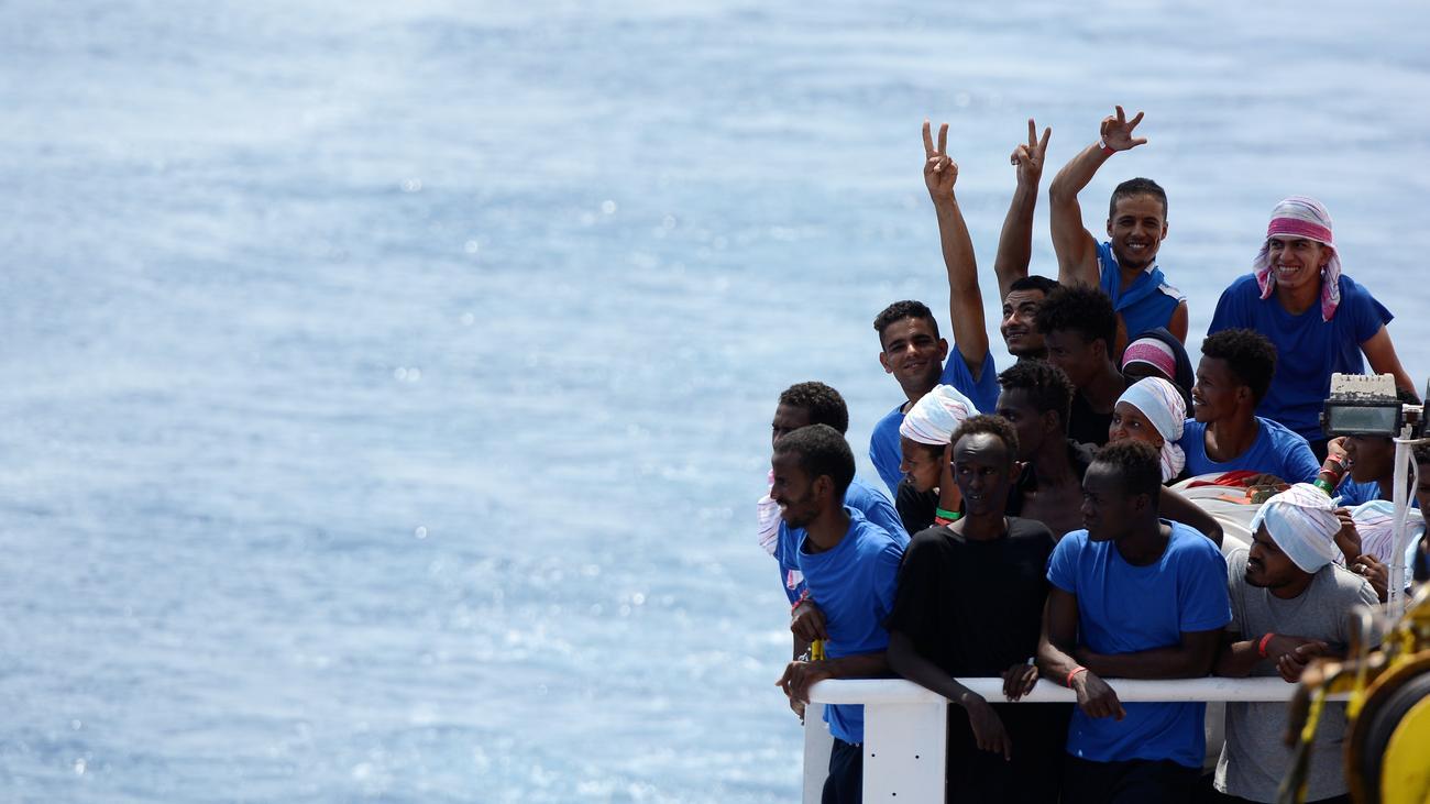 Aquarius Flüchtlinge