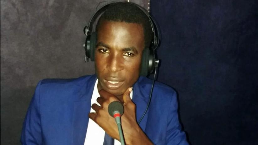 Asylbewerber in Spanien: Hassan Ly in einer Radiostation